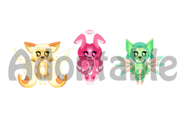 [open] Collab Adopts Little Miss by Coratsuki