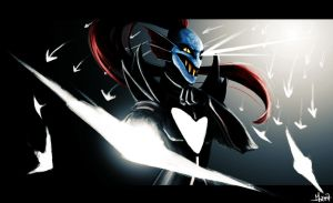 Undyne The Undying by Reunaa