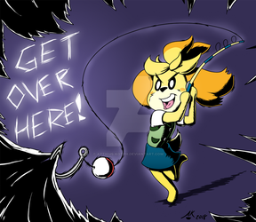Get Over Here! by Atticus-Kotch