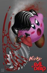 Kirby Vs Evil Dead by AlecFritz