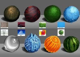 Material Studies by PatriciaPM