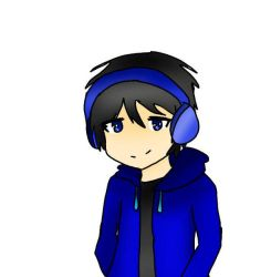 BlazingBluezs (Art request from my cousin) by PlurpleeTwo1236