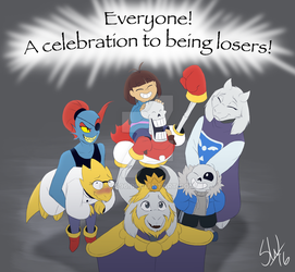 Undertale - A celebration to being losers! by TC-96