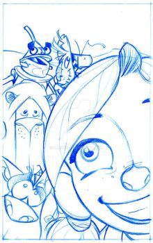 Pencils for Oz by IlPerci