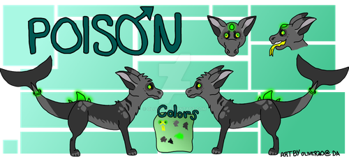 Poison Ref by olivoid