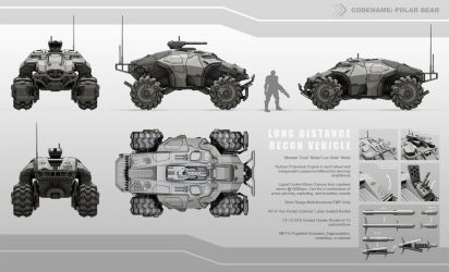 Scout Vehicle by neuromancer2