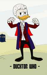 Ducktor Who - 3rd Ducktor by JStCPatrick