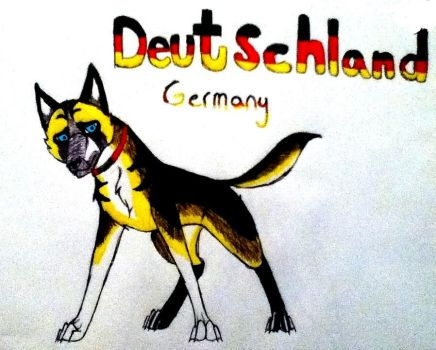 Germany's new design~ by yugiohfreakXD