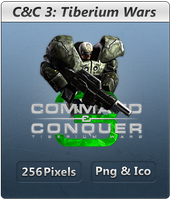 CnC 3 Tiberium Wars GDI - Icon by Crussong
