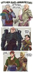 DRAGON AGE: THE WITCHER: ELVES by cherrysplice