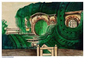 I am a Baggins OF BAG END by beathaart