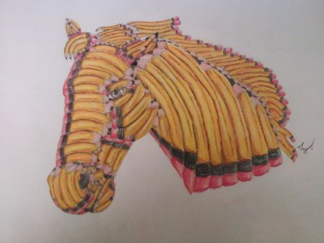 Pencil Horse by TayMcKayPhotography
