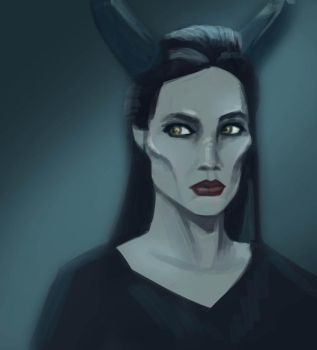 Maleficent by SJPenner