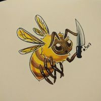 Killer Bee by StarSheepSweaters