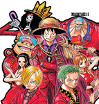 One Piece - render [PNG] by miahatake13