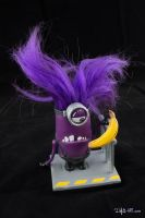 [Garage kit painting #03] Evil Minion statue - 009 by DasArt