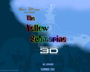 OMG Yellow Submarine 3D poster by TheAbbeyRoadie