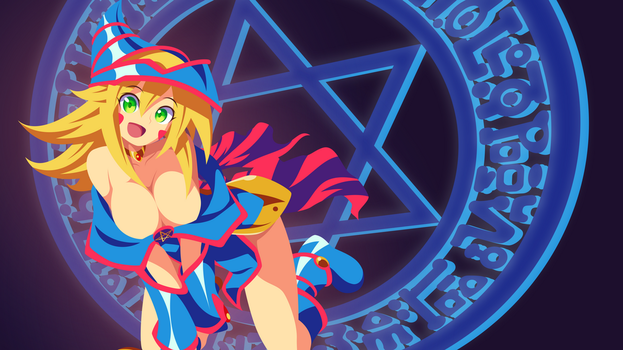 YuGiOh - Dark Magician Girl wallpaper by Carionto