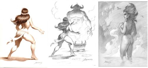 Drawings from February by PaulAbrams