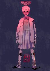 Stranger Things Tribute // Eleven. by mariavalentiniart