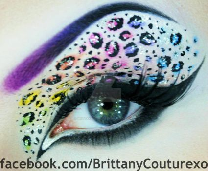 Neon Leopard Print (with pictorial) by BrittanyCouture