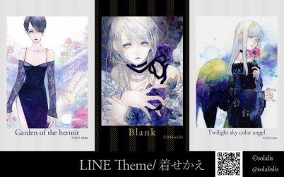 LINE theme on sale by solalis1226