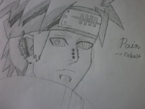 Pain from Naruto by TheCobaltAssassin
