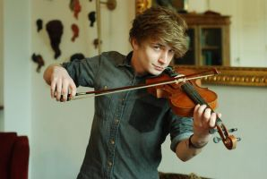 Male Violin Stock 4 by BirdsistersStock