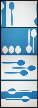 Spoons and Colours by geralin