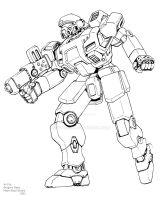Commando Lineart by GTDees