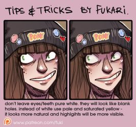 coloring tip by Fukari
