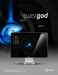 QuasiGod Liquid Blue by submicron