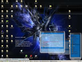 my osom desktop with cream by egilpaulsen