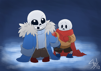 Undertale - Baby Bones by TC-96