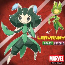 LEAVANNY MARVEL FORM by Meg4mente