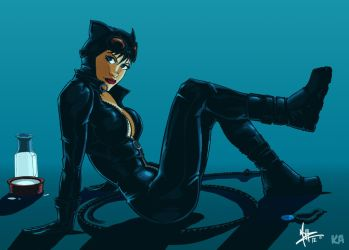 Catwoman by Komic Karl by MoHzleE20