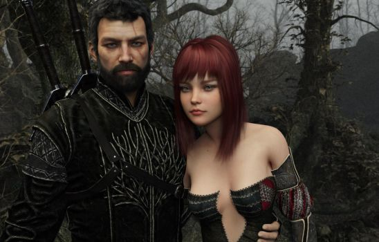 A Witcher Romance 001 by SirTancrede