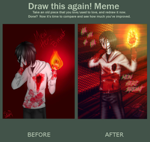 Draw this again 2014 - 2017 by shina1319