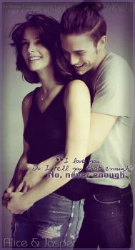 No, never enough. by Alice-Cullen93