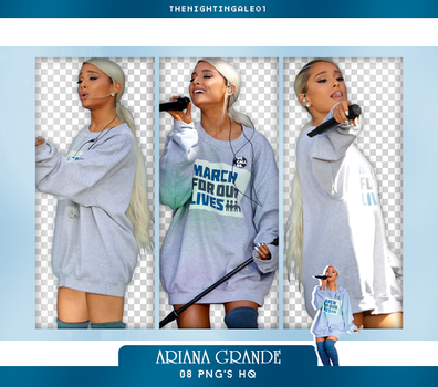 Ariana Grande - Pack Png #83 by TheNightingale01