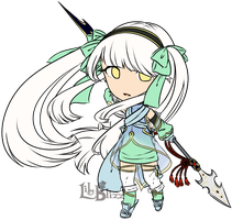 Fire Emblem: Chibi Sirena by LilyBlizz