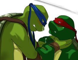 Pain of Imperfection - TMNT by Parilax