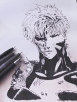 Genos from One Punch Man by Shokkun