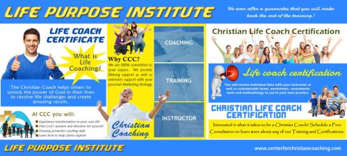 Life Purpose Institute by ChristianCoaching