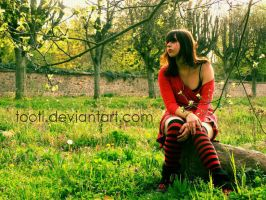 le petit chaperon rouge by tooti
