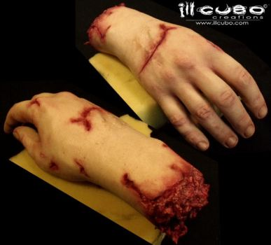 SILICONE HAND male by williamnezme