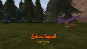 Eevee squad teaser by Breached-Foundation