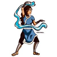 Katara by Inkstandy
