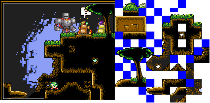Old Platform Tileset 1 by Neoriceisgood