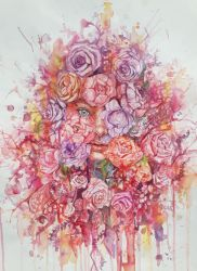 Rose inside the roses by harry-virdy